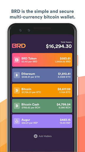 BRD - bitcoin wallet for Android apk 1