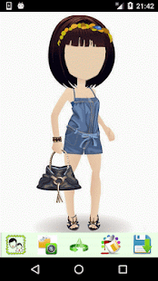 Girls Cartoon Look - náhled