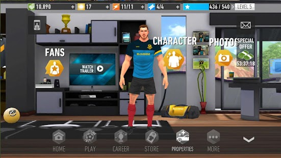 Be A Legend: Real Soccer Champions Game Screenshot