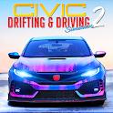 Drifting and Driving Simulator: Honda Civic Game 2 icon