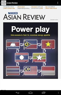 Nikkei Asian Review - Weekly Print Edition reader Screenshot
