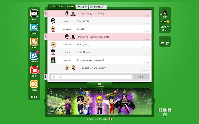 Chat, make friends, flirt, date, play online games, share photos!