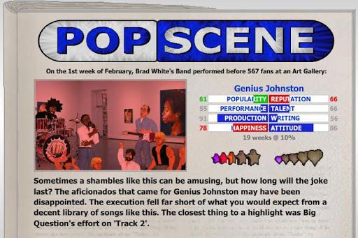 Popscene (Music Industry Sim) 1.20 screenshots 4