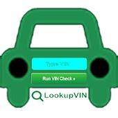 Lookup VIN - VIN number lookup