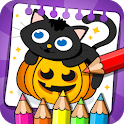 Halloween - Coloring & Games icon