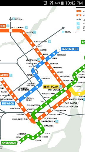 Montreal Metro Map APK