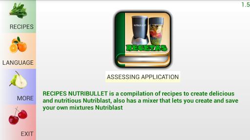 Recipes Nutribullet