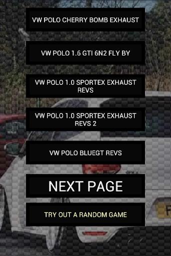 玩免費遊戲APP|下載Engine sounds of Polo app不用錢|硬是要APP