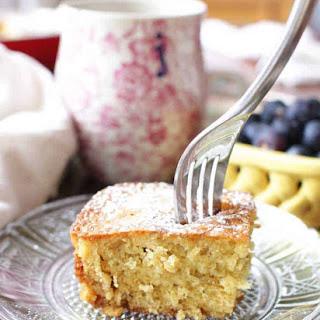 Mini Orange Oat Breakfast Cake Recipe