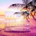 Sunsetbeach Keyboard Theme icon