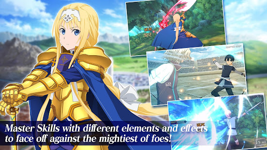 Mod Game Sword Art Online Alicization Rising Steel for Android