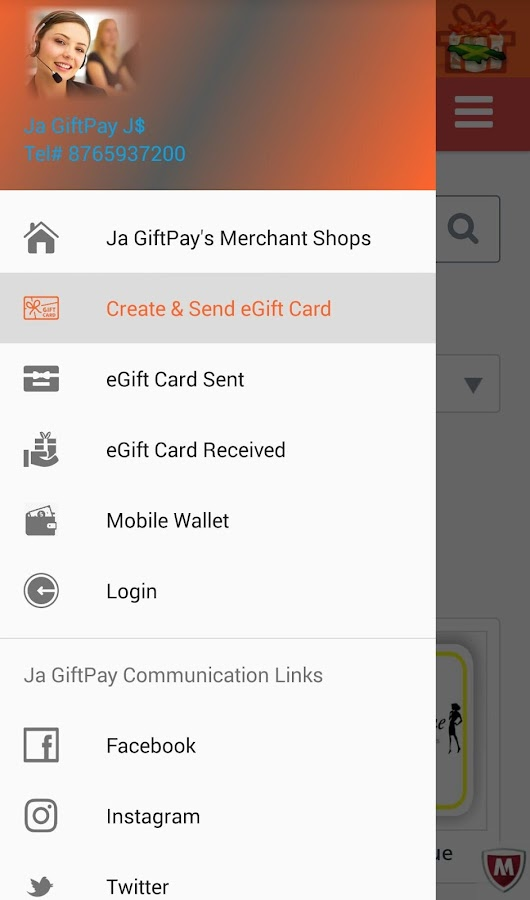 Ja GiftPay J$- screenshot