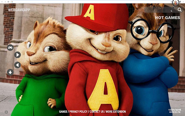 Alvin and Chipmunks HD Wallpapers Tab Theme