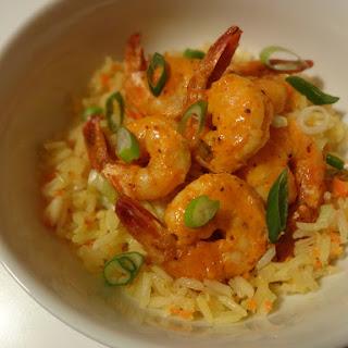 Roasted Shrimp with Gochujang Aioli