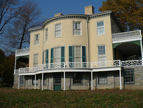 Photo: 1.a. Lemon Hill. Henry Pratt, Philadelphia merchant built this stately summer villa in 1800 on property formerly owned by financier Robert Morris. The neoclassical style features oval rooms with curved doors. The back side of the house is better lit in the afternoon.