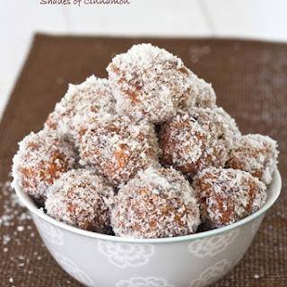 Coconut Date Balls Recipes.