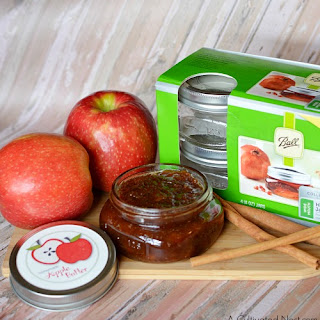 Homemade Slow Cooker Apple Butter with Free Labels