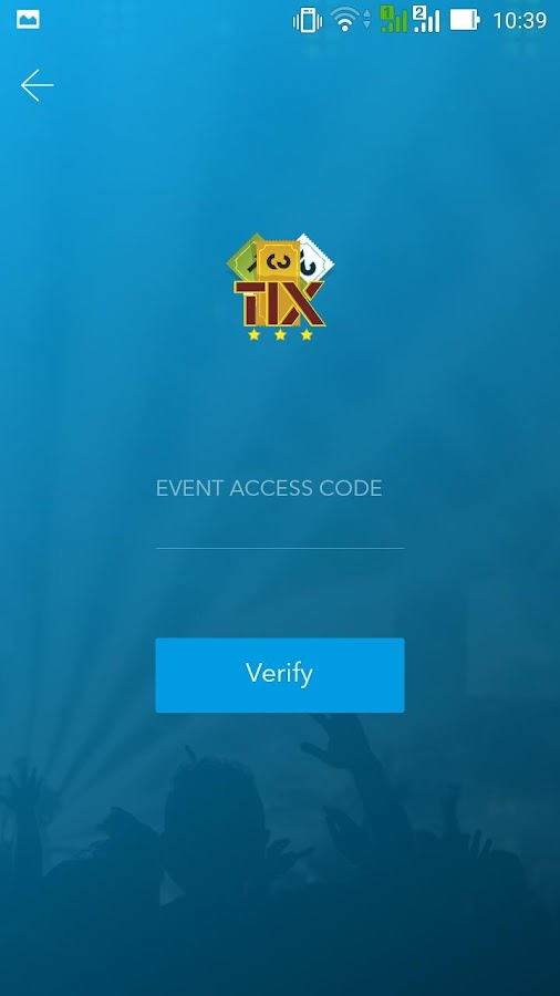 123 Tix Ticket Scanner- screenshot