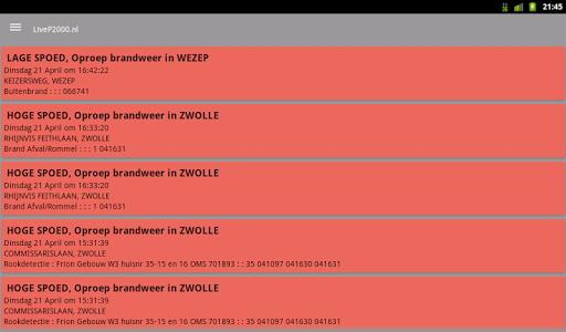 LiveP2000.nl - Free Meldingen v1.3.1c Screenshots 11