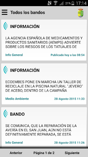 Acebo Informa