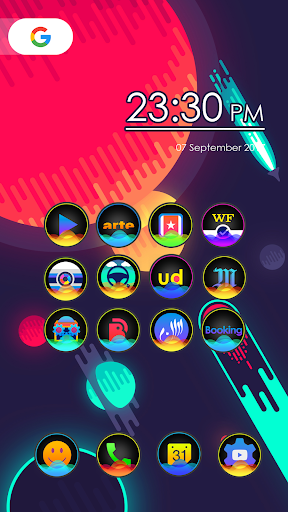 Sonar - Icon Pack app for Android screenshot
