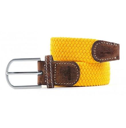 BillyBelt Braid belt saffron yellow