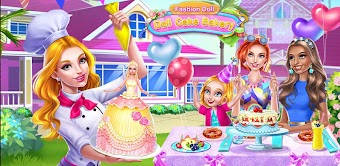 Fashion Doll: Doll Cake Bakery