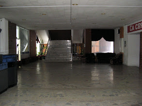 Photo: Foyer of the show hall