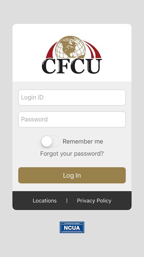 Cannon FCU Mobile Banking App- screenshot