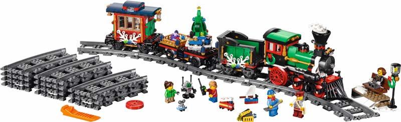 Contenido de Lego® 10254 Tren Navideño