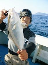 Photo: 1発目はネリゴ! 欲しい魚だったそうな・・。