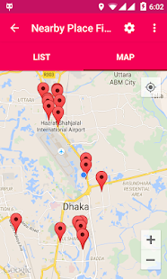Nearby Place Finder - GPS - náhled