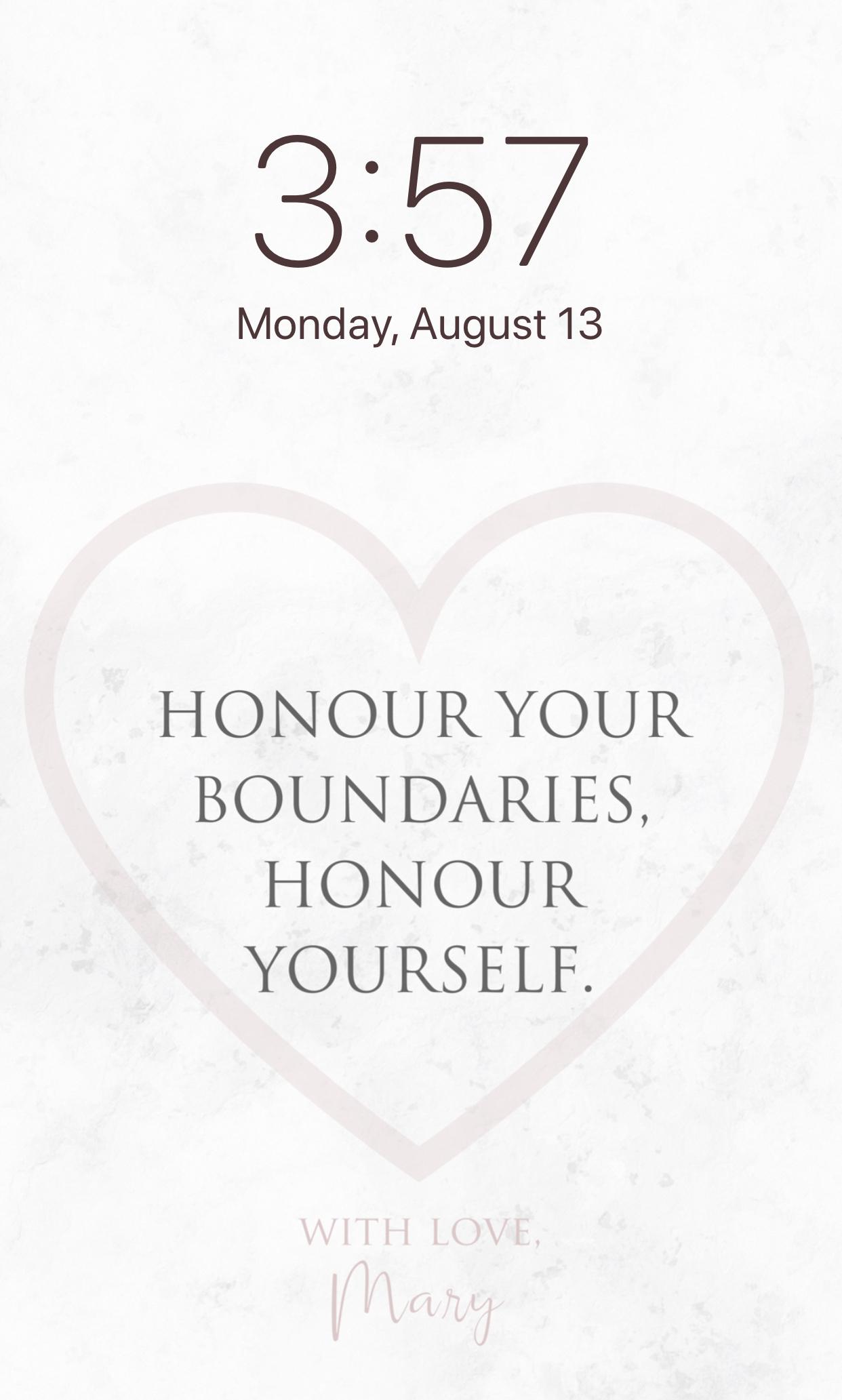 Download the Boundaries Wallpaper
