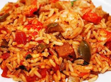 Slow Cooker Creole Jambalaya