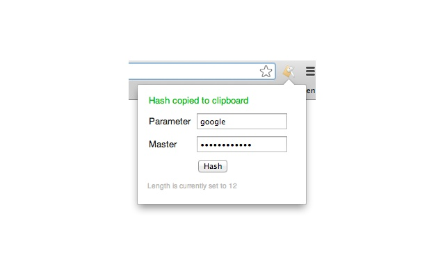 Lean Password Hasher