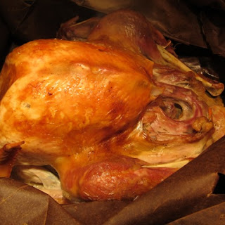 Thanksgiving Turkey in a Brown Paper Shopping Bag Recipe