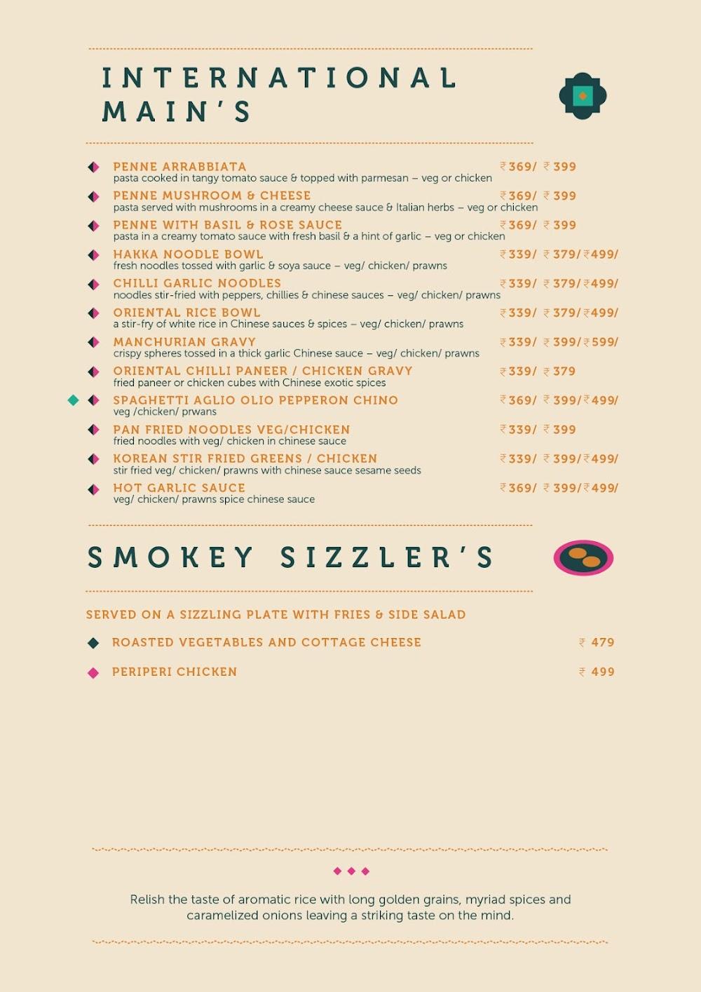 Anardana Modern Kitchen & Bar menu 9