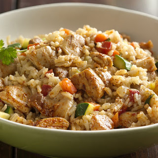 Chicken and Rice.