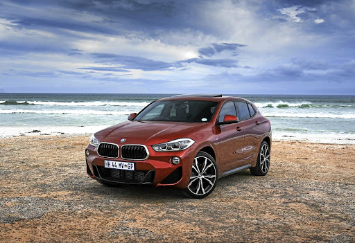 The design of the BMW X2 definitely gives it more character than many rivals. Picture: BMW