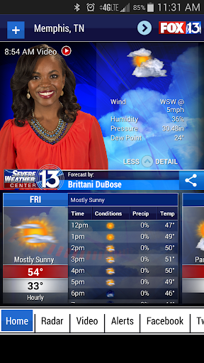 FOX13 Weather App screenshot
