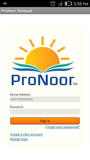 Pronoor Notepad+Paint