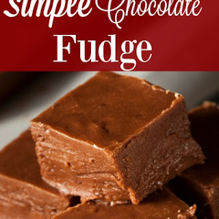 Simple Chocolate Fudge