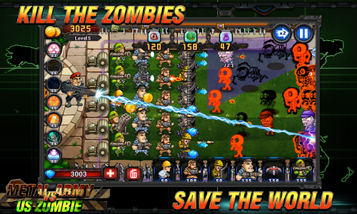 Screenshot 3 Army vs Zombies 2.0.1.8 APK hack