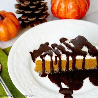 No-Bake Vegan Pumpkin Pie (Vegan, Gluten-Free, Dairy-Free, Paleo-Friendly, No-Bake, No Refined Sugar).