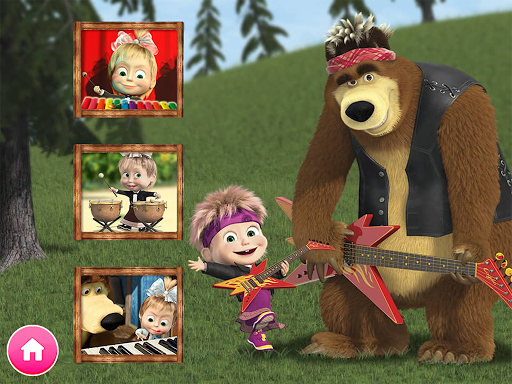 Masha and the Bear. Educational Games for PC