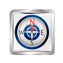 Free magnetic & digital compass icon