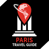 Paris Travel Guide Offline Map