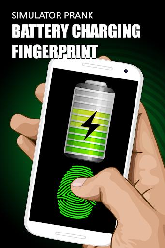 バッテリー充電指紋