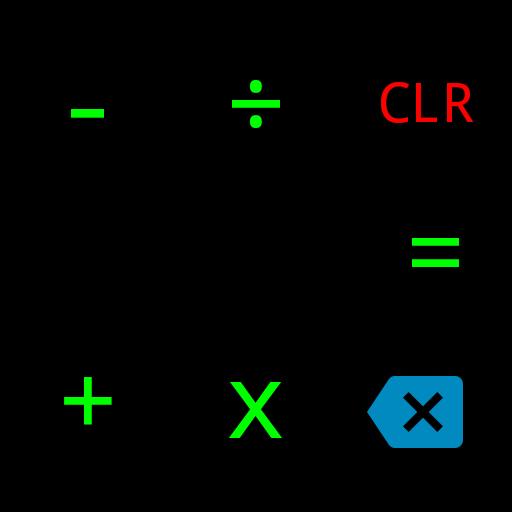 電卓ダークグリーン 財經 LOGO-玩APPs