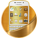 Gold BlackBerry Theme icon